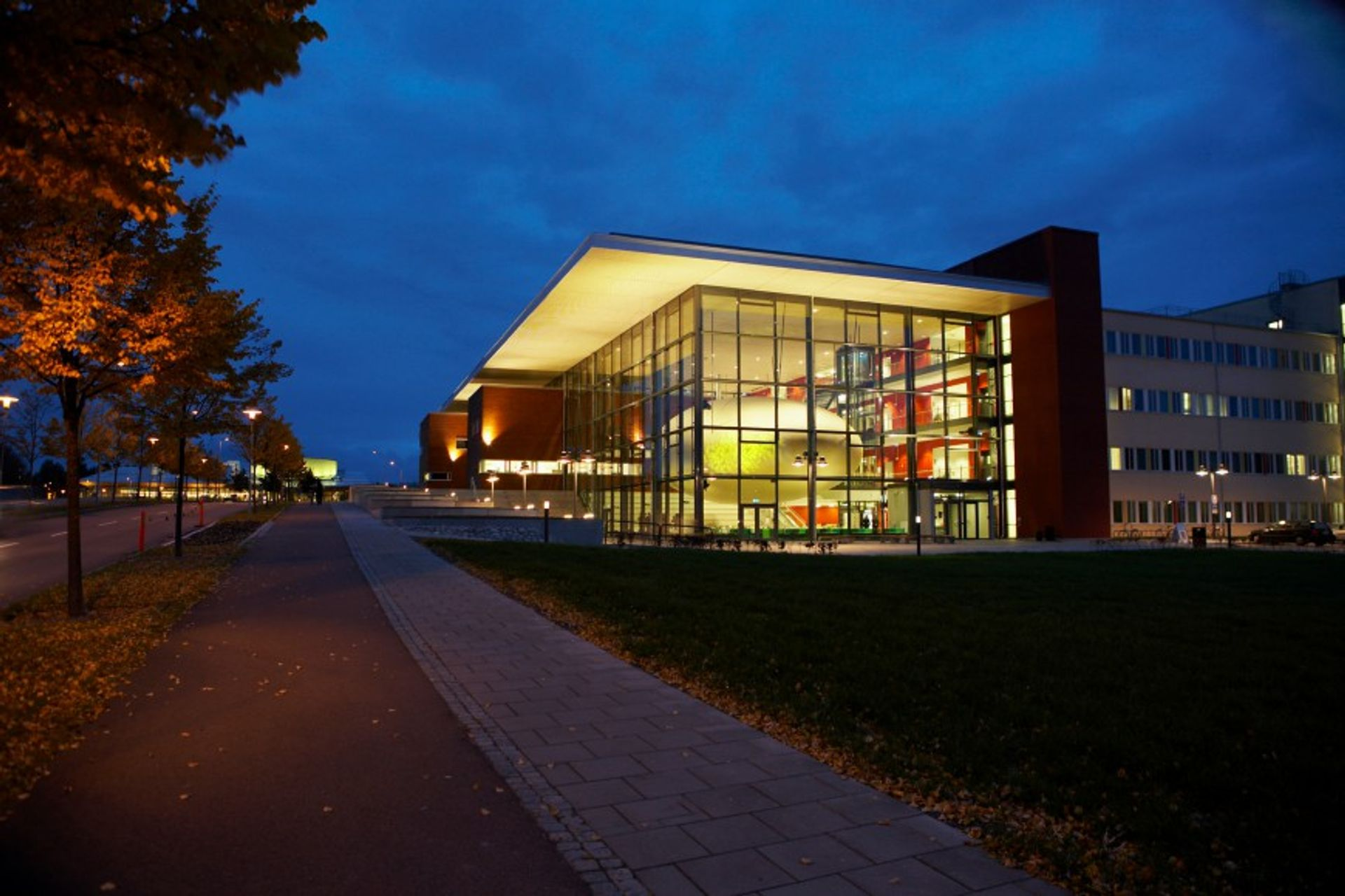 Karlstad university building