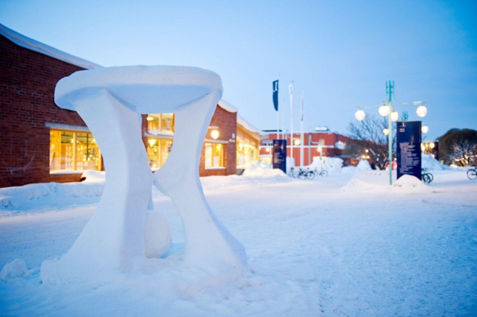 Luleå Tekniska Universitet Campus