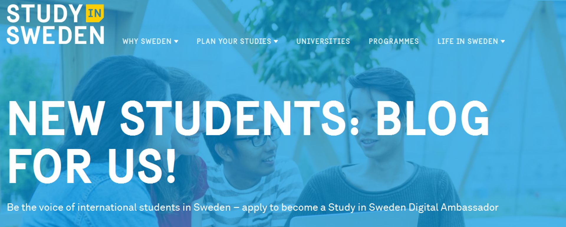 Blog for Study in Sweden