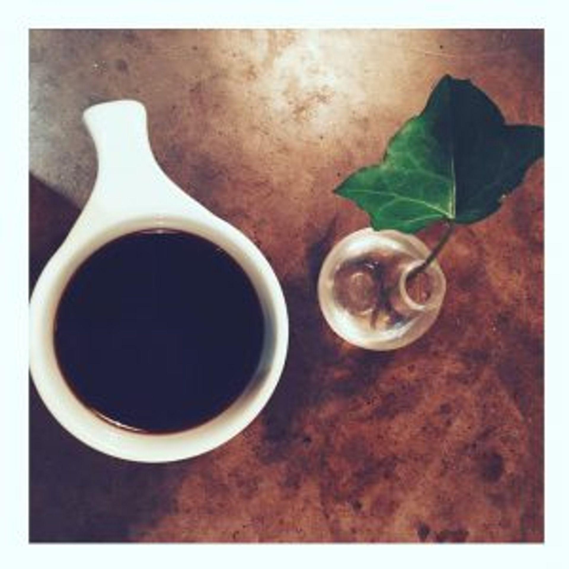 Imagine - coffee. Sorry, tea-lovers.