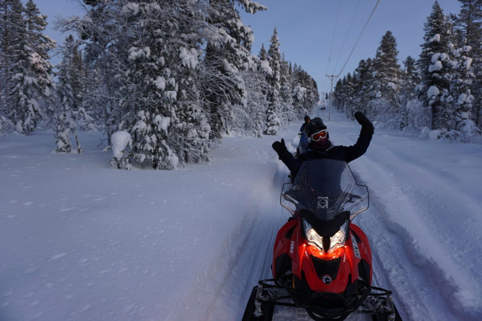 Snow scooter tour, Source: Inez