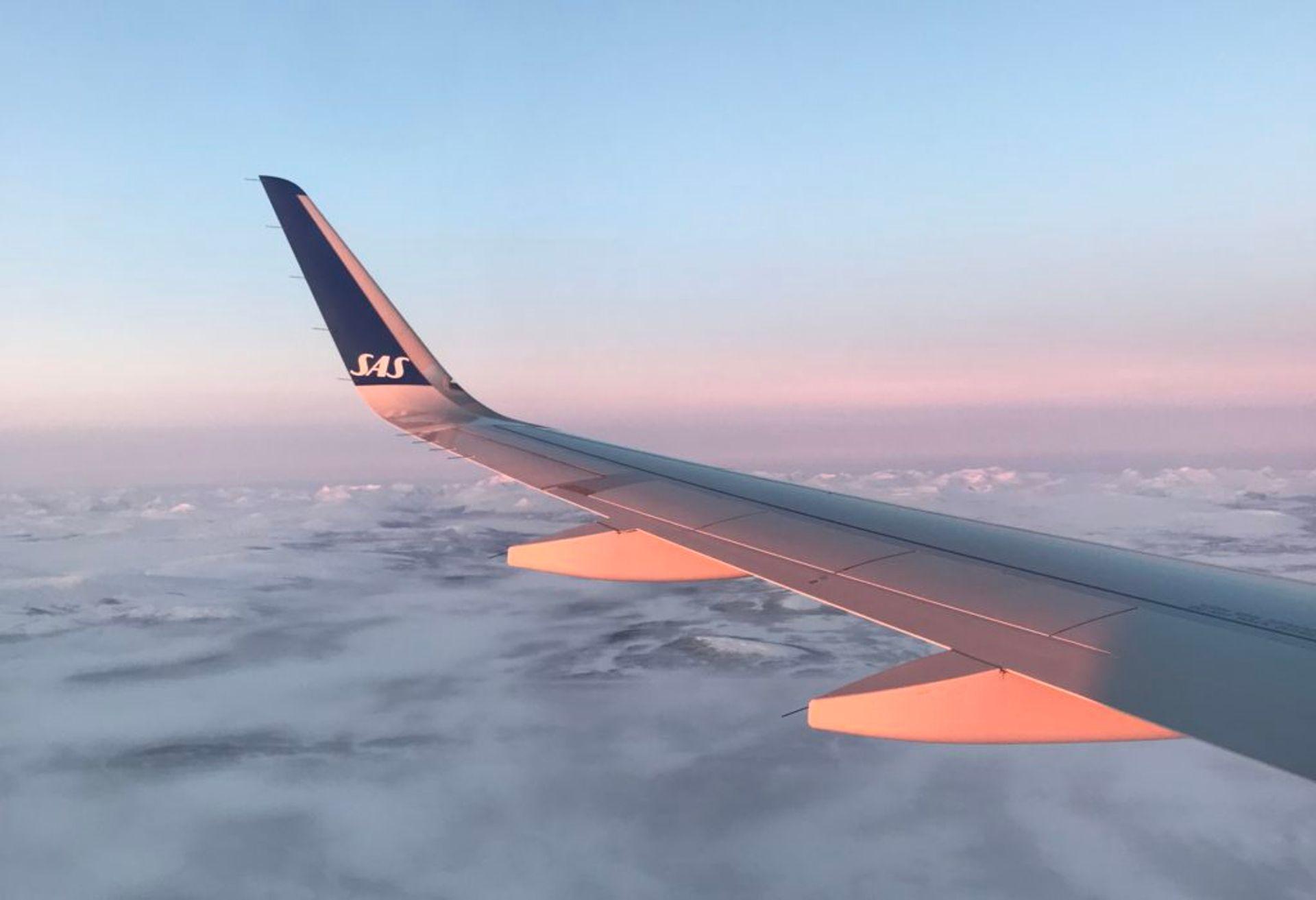 Flying to Kiruna, Source: Inez