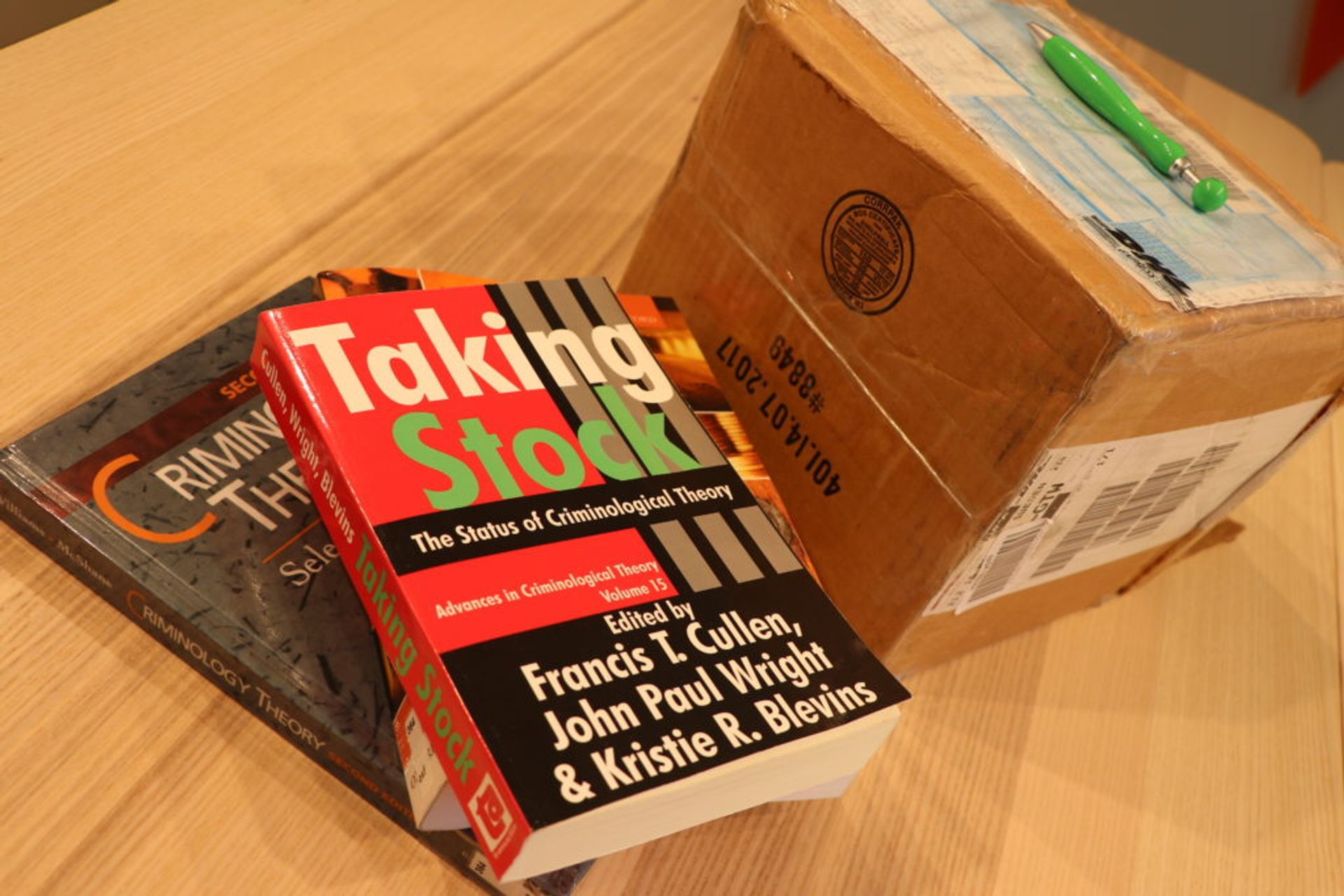 Shipping books and other heavy material is highly recommended /Source: Sanjay