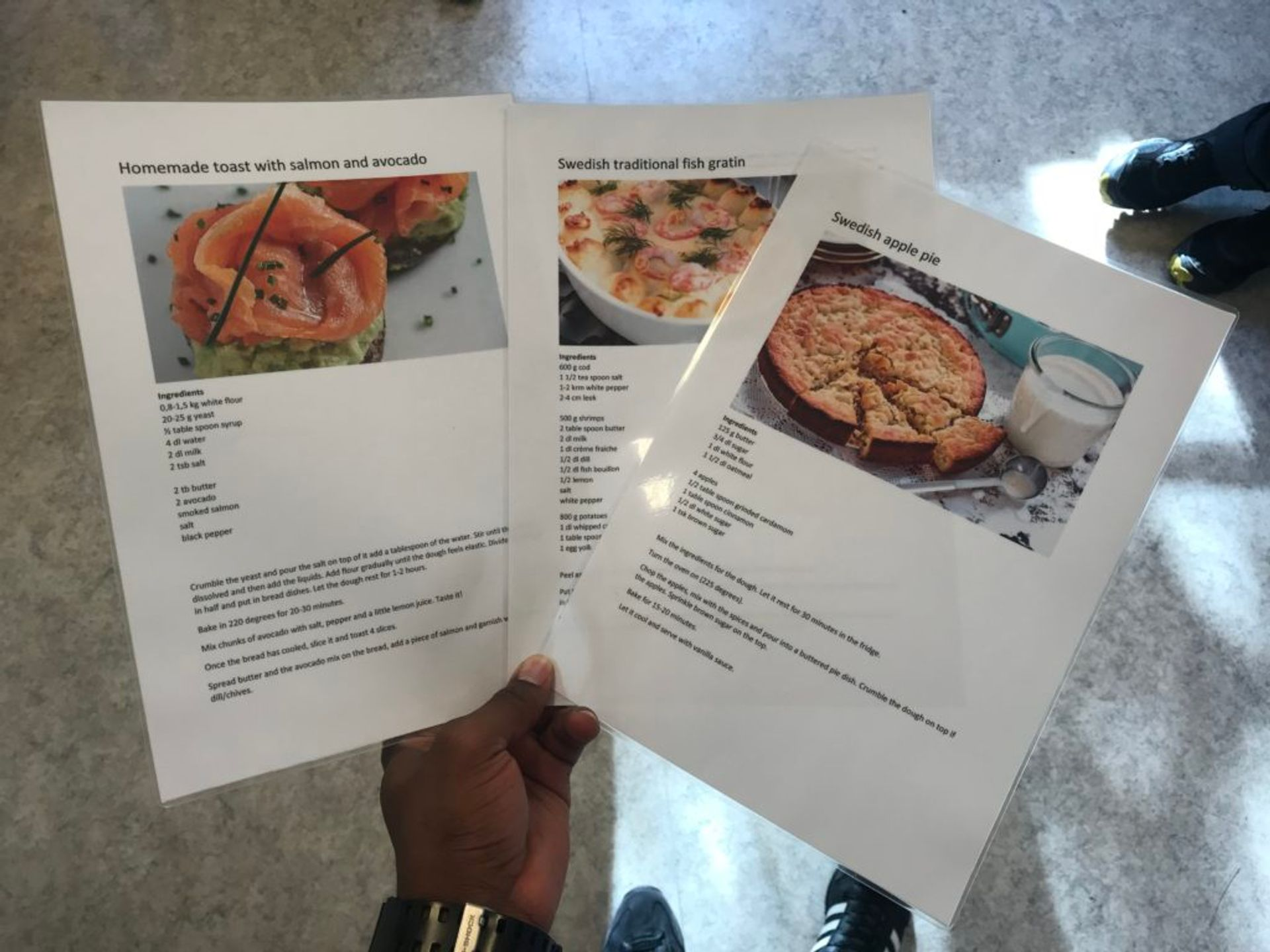 recipes of the day