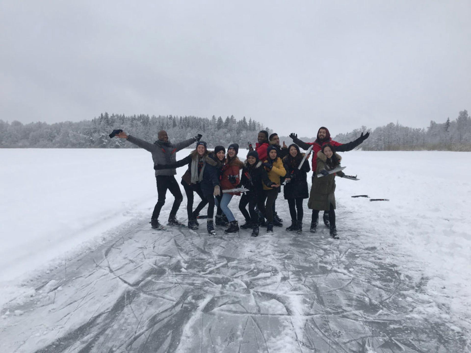 Nordic Skating with Digital Ambassadors 2017/18