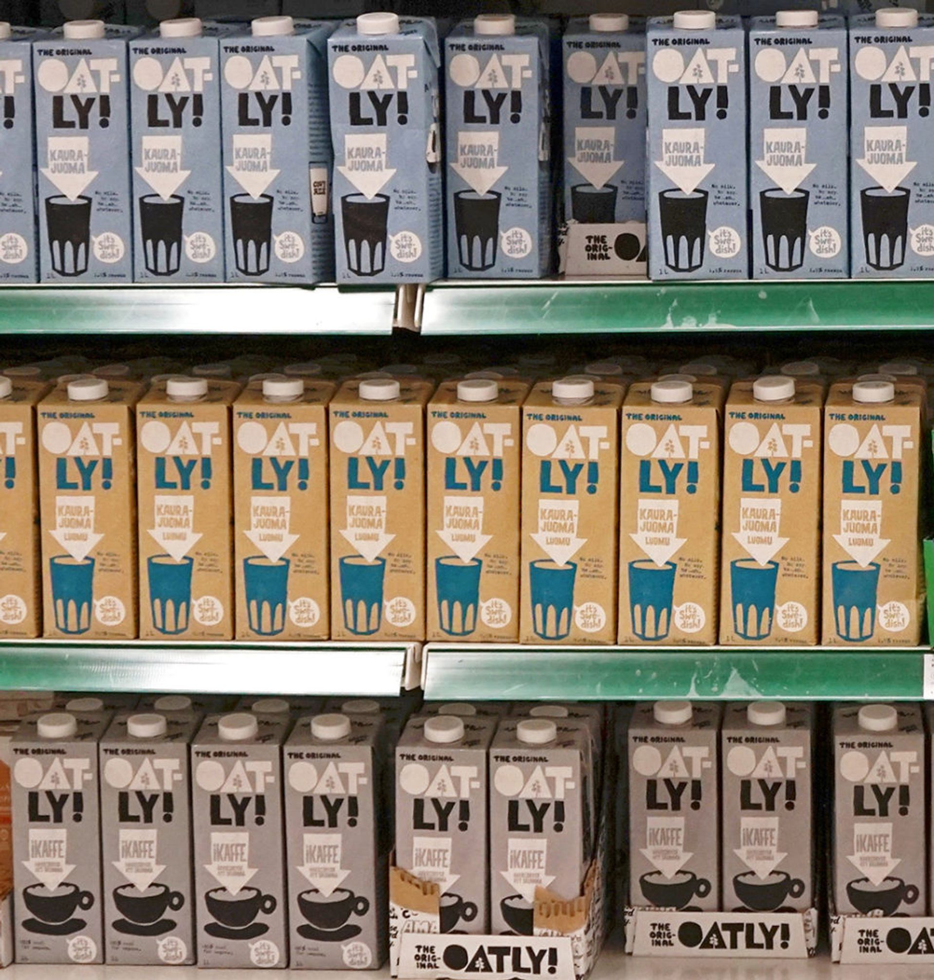 Alternative milk drink oatly