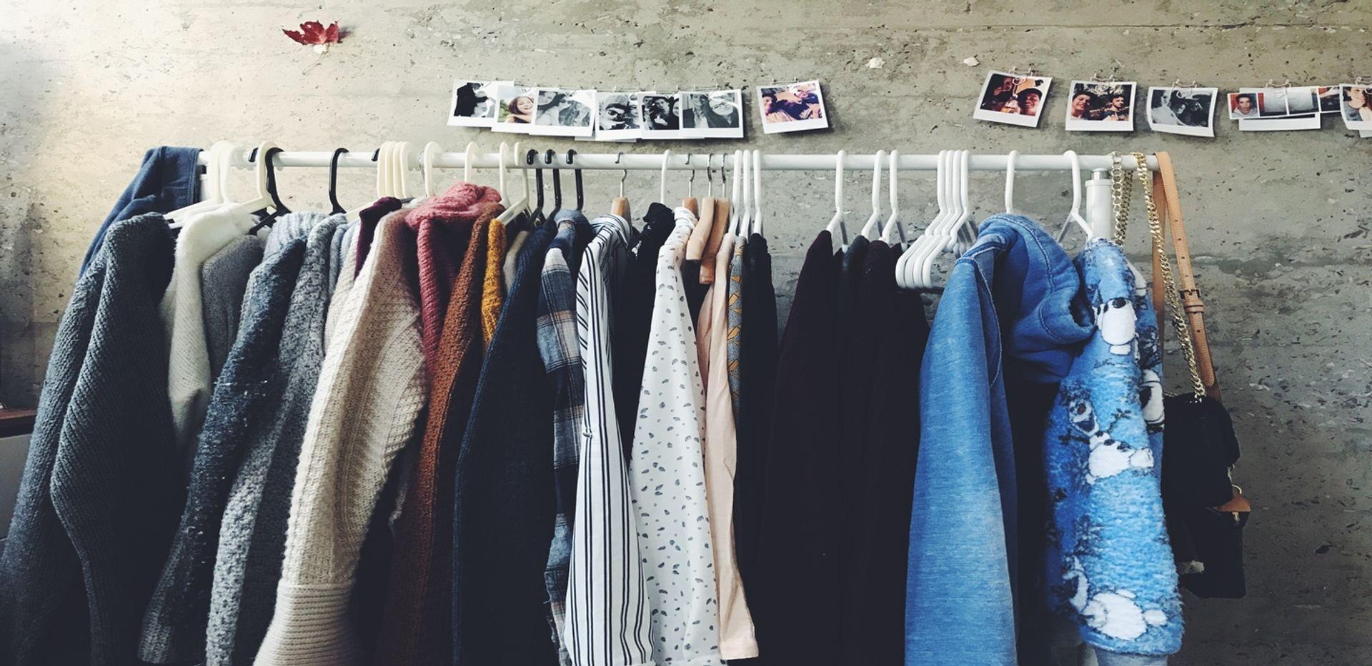 Second hand shopping/ Credit: Shanna Camilleri; Unsplash
