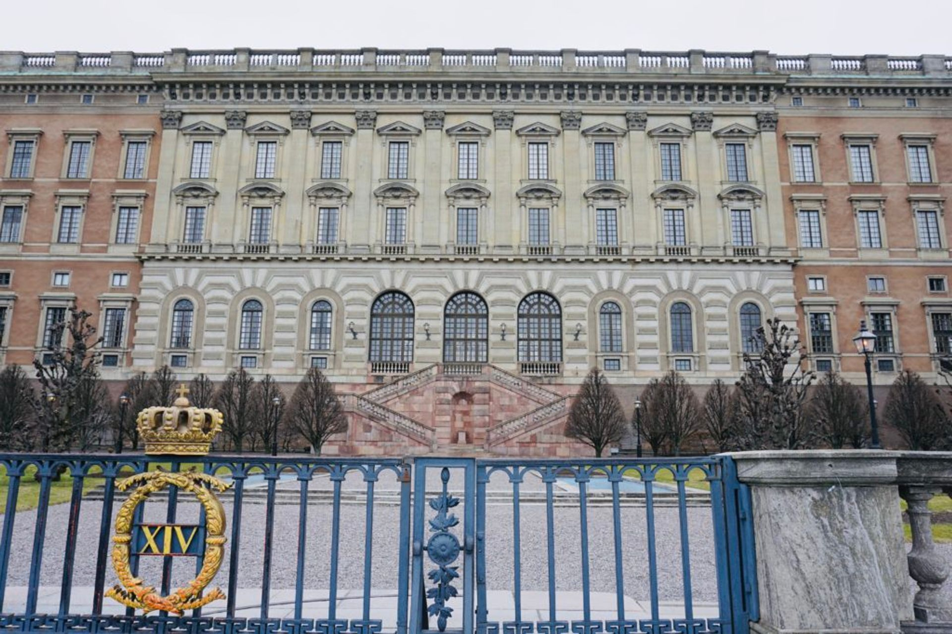 Exterior of the Royal Palace in Stockholm.
