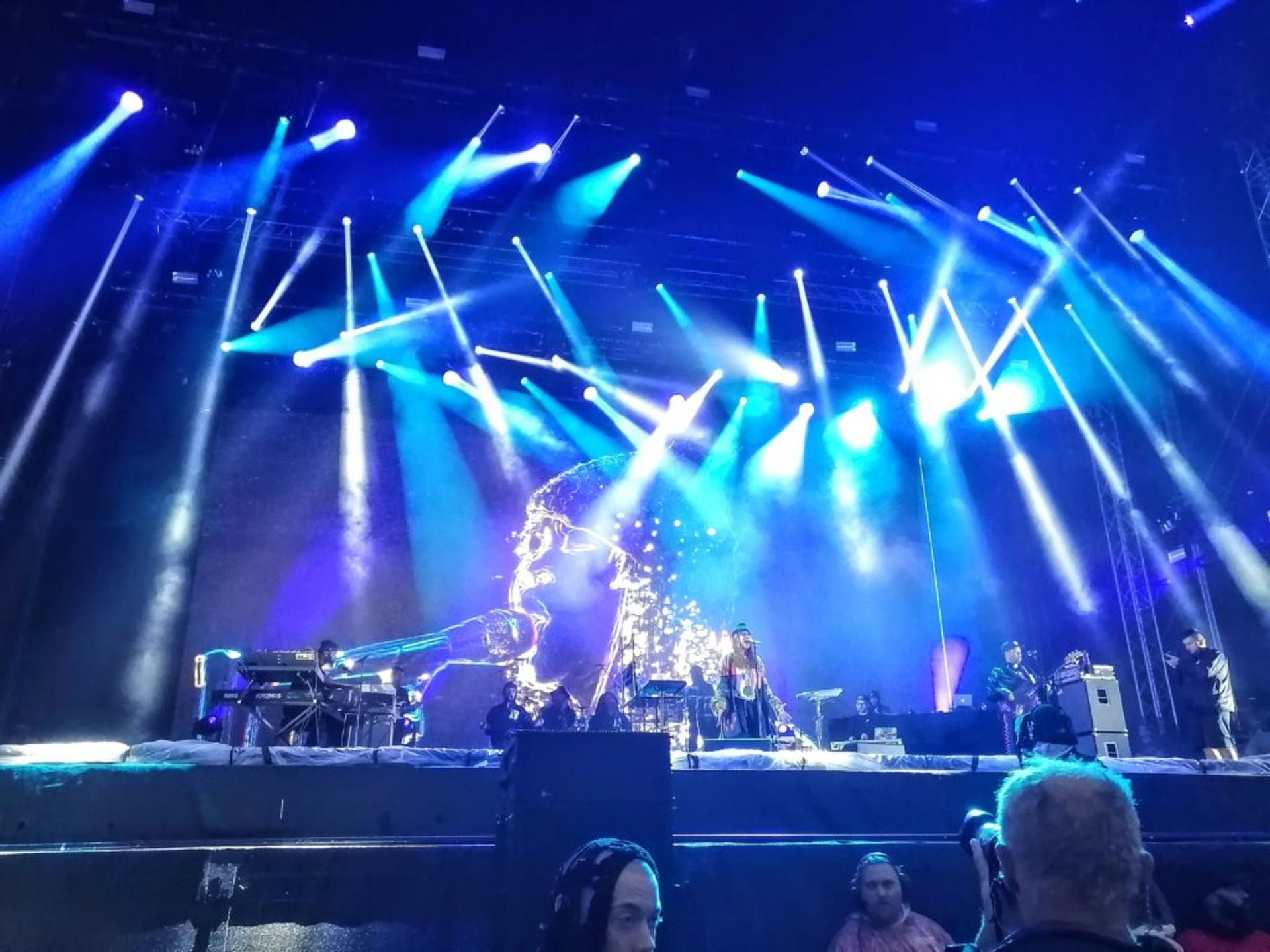 Erykah Badu performing at Way Out West