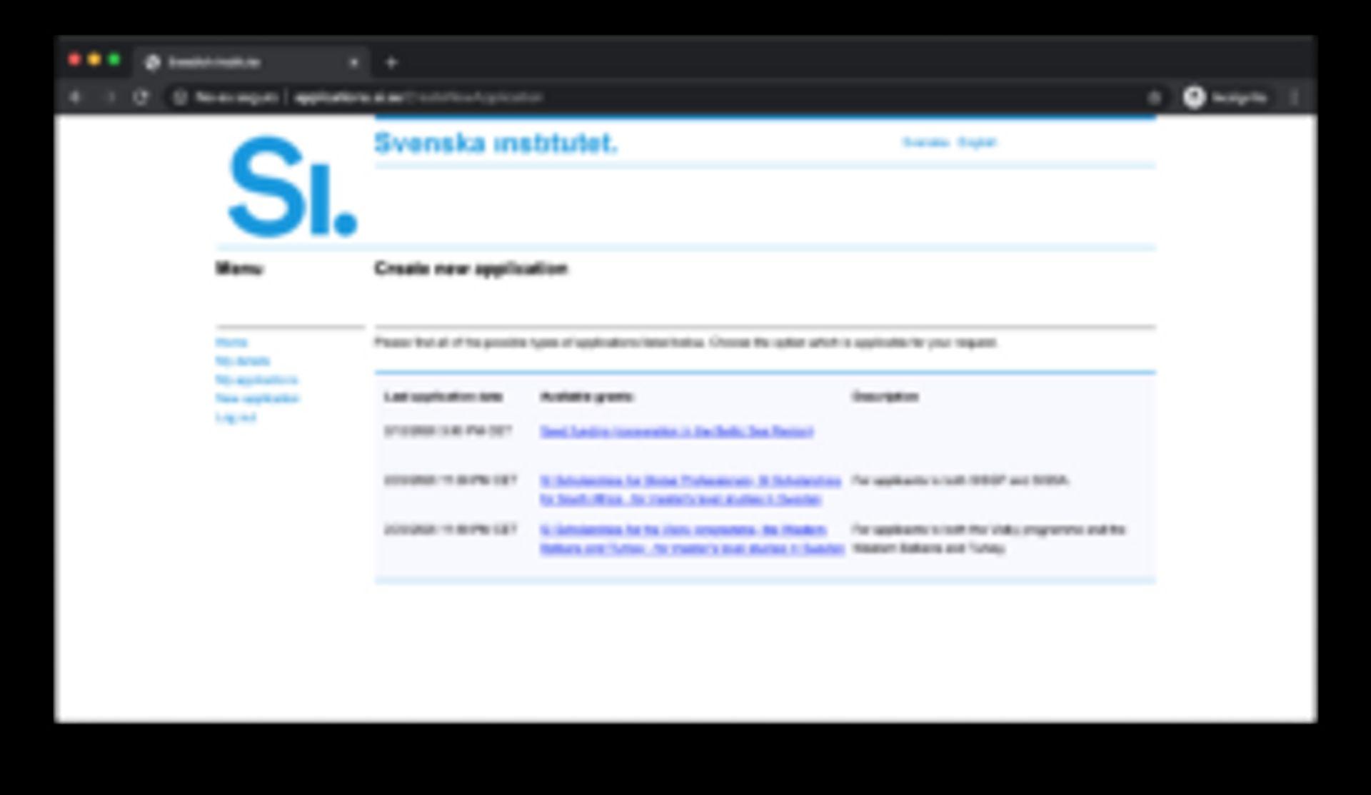 Screenshot of webpage.