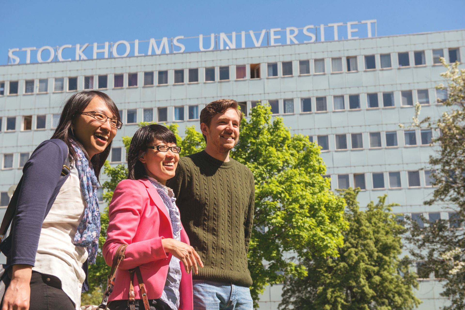 Scholars outside of Stockholm University.