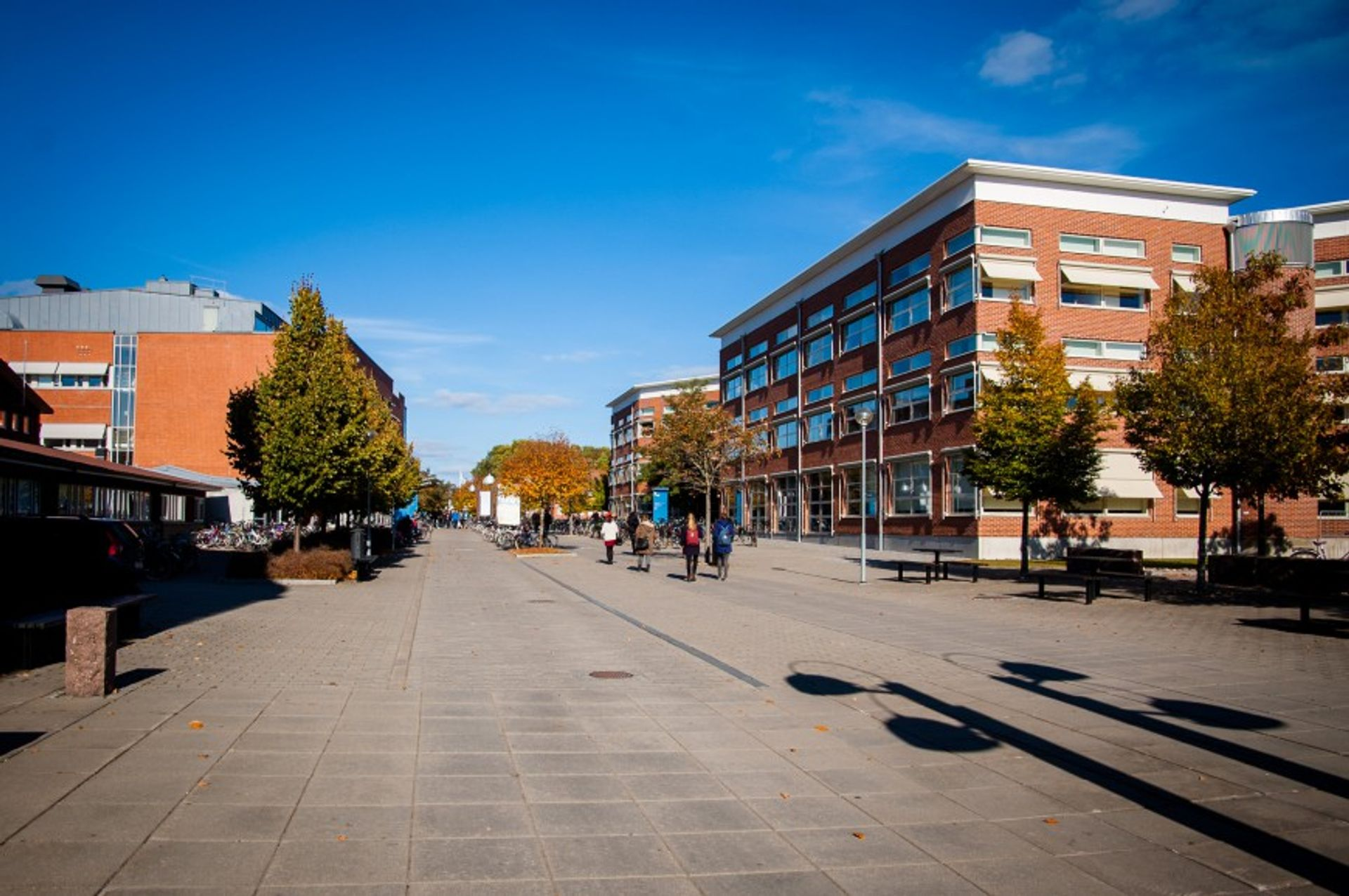 Exterior of Linköping University