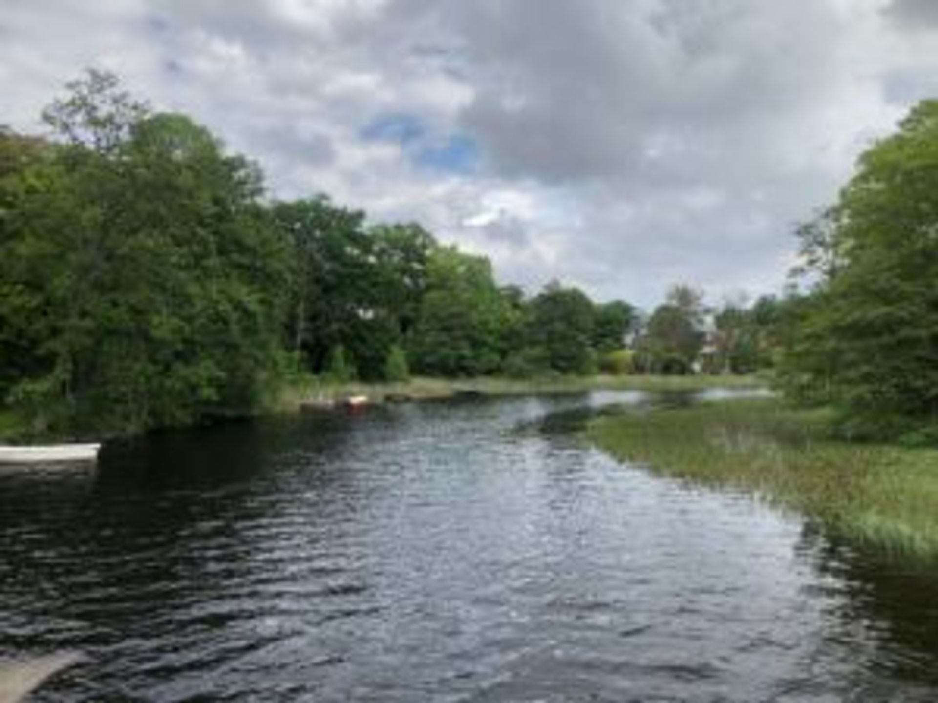 The river close to Gunnebo House.