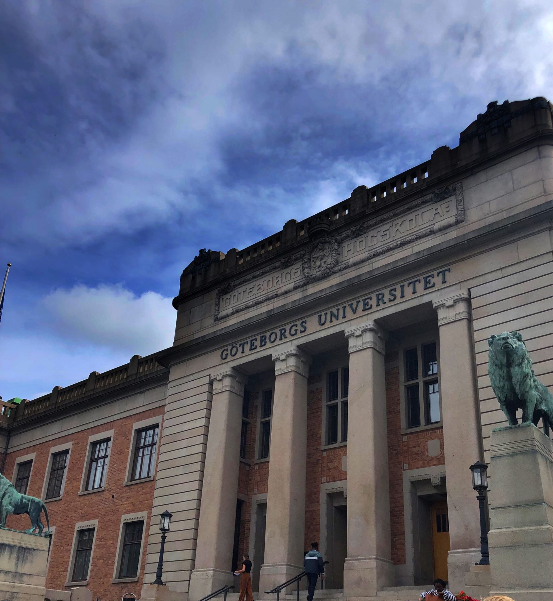 The University of Gothenburg's main building.